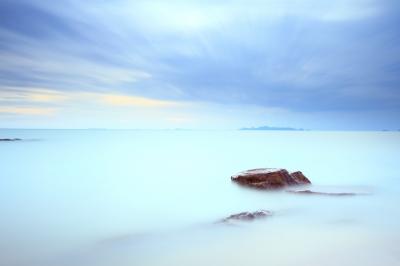 hav, blå ocean, blue ocean